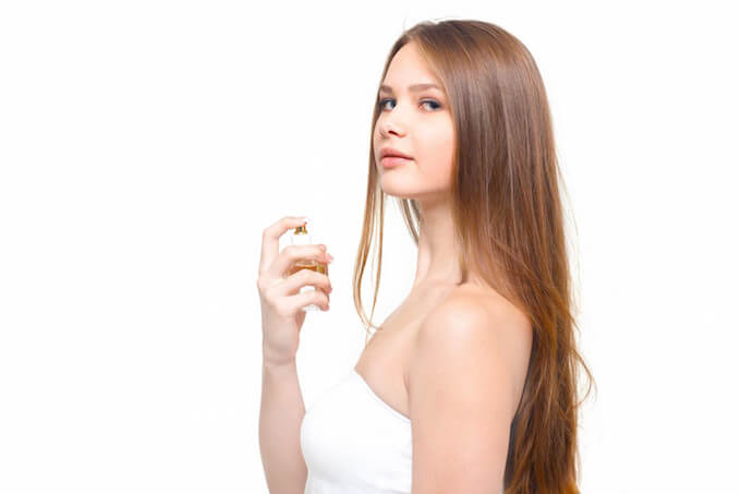 香水と外国人女性