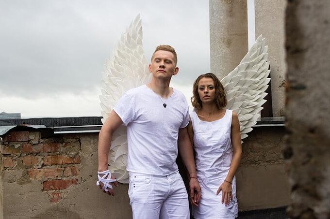 天使のカップル