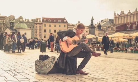 ストリートミュージシャン